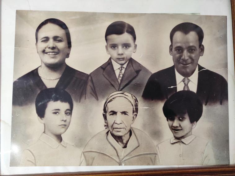 ששת הנספים באסון ממשפחת ממן (צילום: אלבום המשפחה)