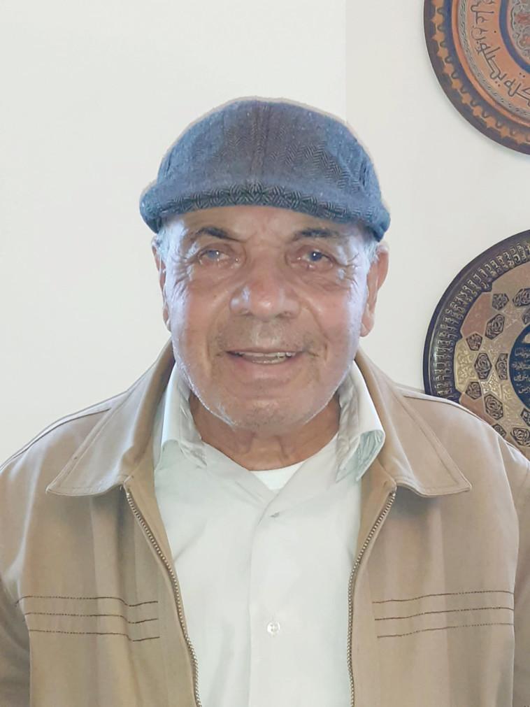 בן 78 מחיפה, שסבל מעיוורון וחזר לראות באמצעות ניתוח חדשני (צילום: באדיבות המשפחה)