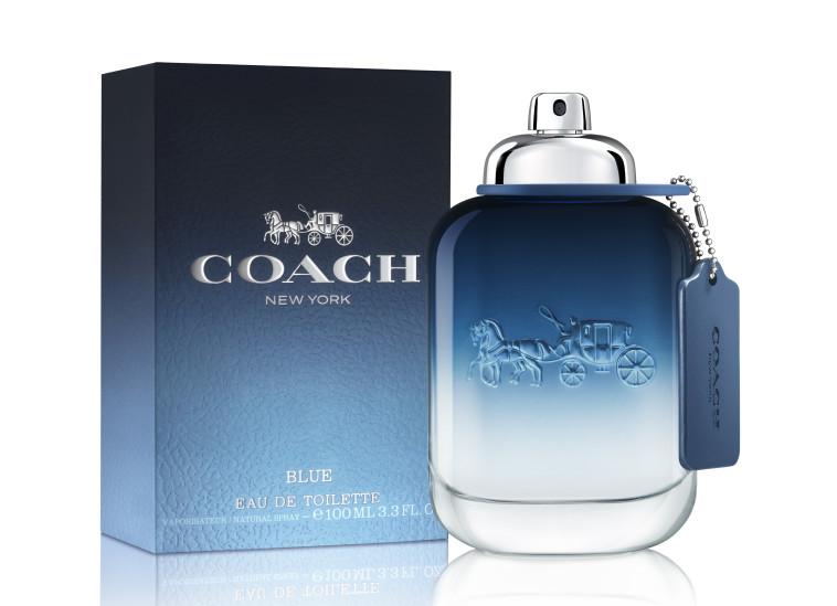 בושם לגבר COACH BLUE, קואץ'. מחיר: 249 שקל (צילום: יח''צ)