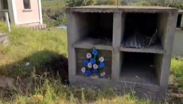 הקבר שנבנה עבור חוליו  (צילום: צילום מסך יוטיוב)