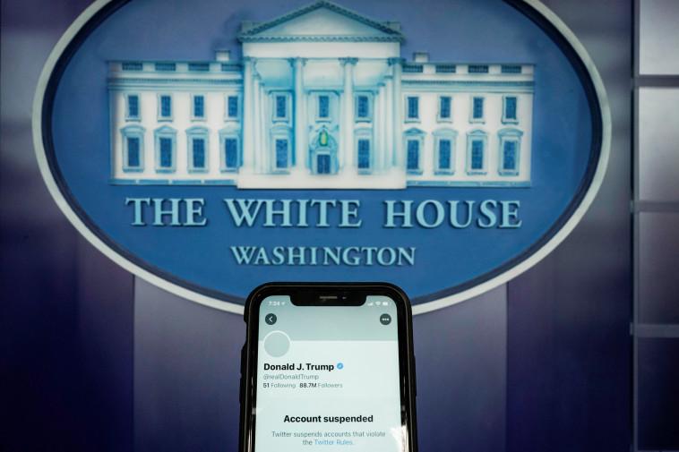חשבונו החסום של דונלד טראמפ (צילום: רויטרס)