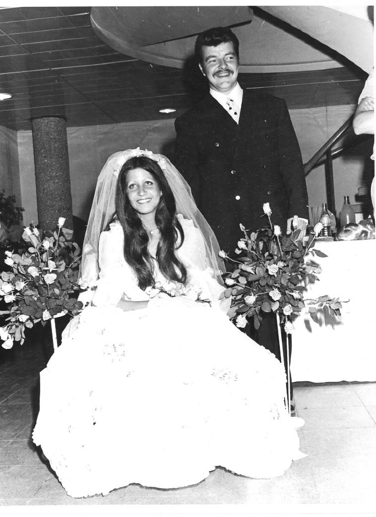 ההורים של דנה לביא (צילום: צילום פרטי)