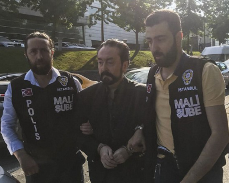 The arrest of Adnan Okter (Photo: Social Networks)