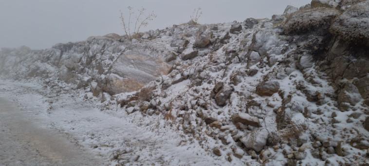 שלג בחרמון (צילום: אתר החרמון)