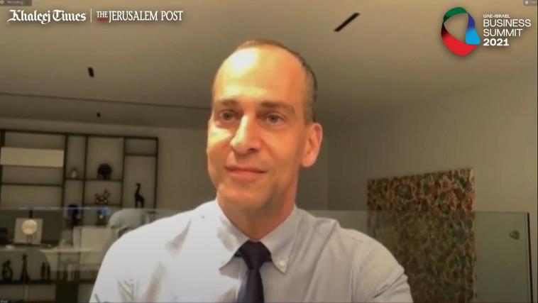 אלי כהן, מנכ''ל מקורות (צילום: צילום מסך ג'רוזלם פוסט)