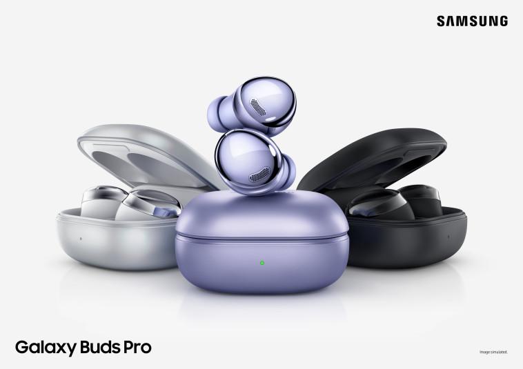 אוזניות Galaxy Buds Pro (צילום: יח''צ)