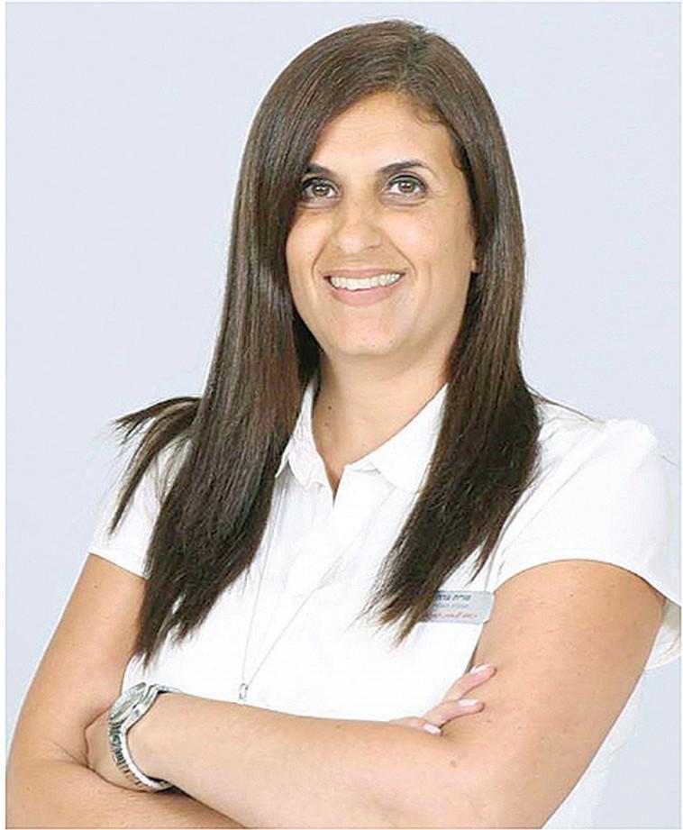 שרית ערה מנהלת סניף יהוד בנק הפועלים  (צילום: פרטי)