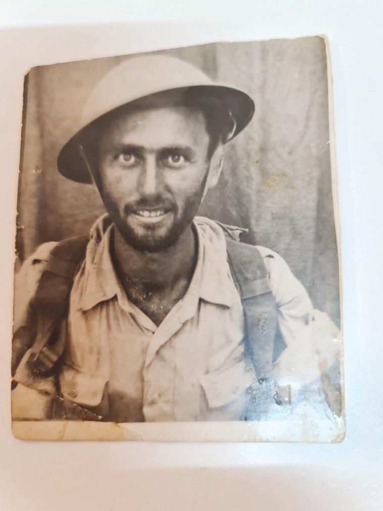הדוד שלא הכרתי, ישראל זילברמן ז''ל (צילום: פרטי)