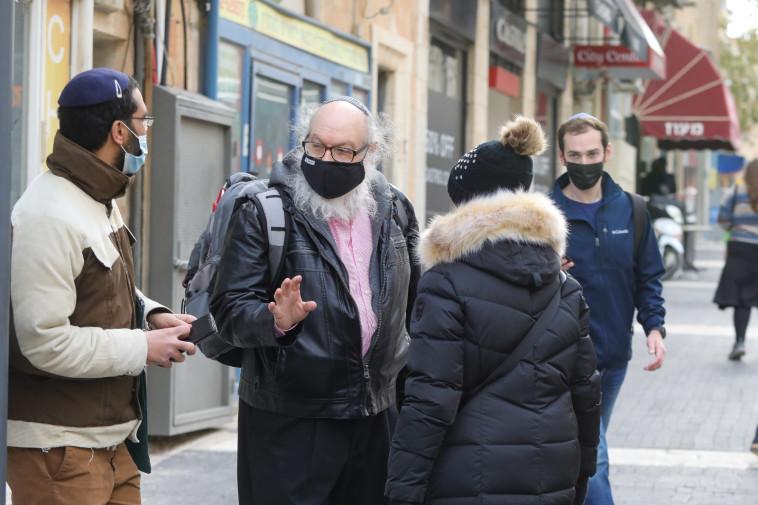 פולארד ברחוב המלך ג'ורג' בבירה. עורר עניין רב (צילום: מארק ישראל סלם)