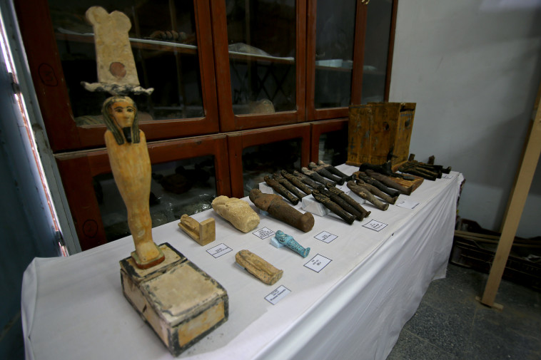 More items found in excavations in Egypt (Photo: Reuters)