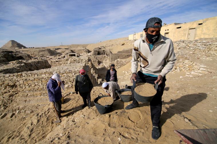 Excavation site (Photo: Reuters)