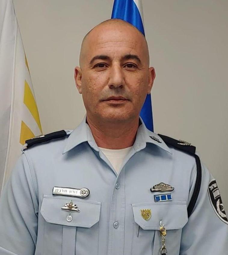 תנ״צ דורון תורג׳מן בן ה-51, ימונה למפקד מחוז ירושלים (צילום: דוברות המשטרה)