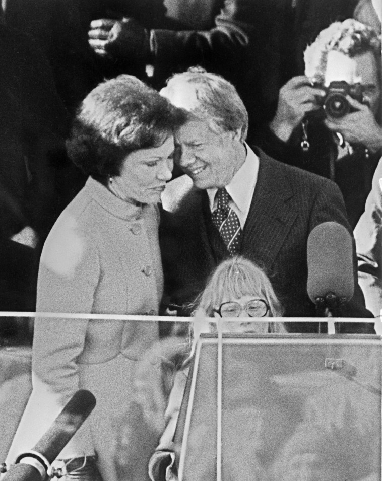 Rosalyn Carter with her husband Jimmy (Photo: Stringer / GettyImages)