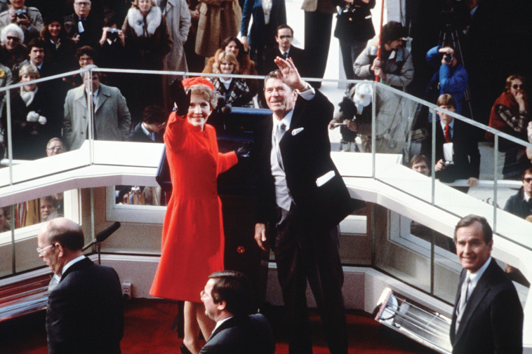 Nancy Reagan with her husband Ronald (Photo: AFP / Getty images)