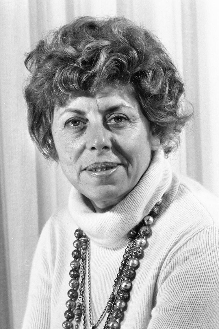שולמית אלוני בשנת 1974 (צילום: שמואל רחמני)