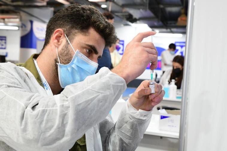 חיסון לקורונה (למצולם אין קשר לנאמר בכתבה) (צילום: אבשלום ששוני)