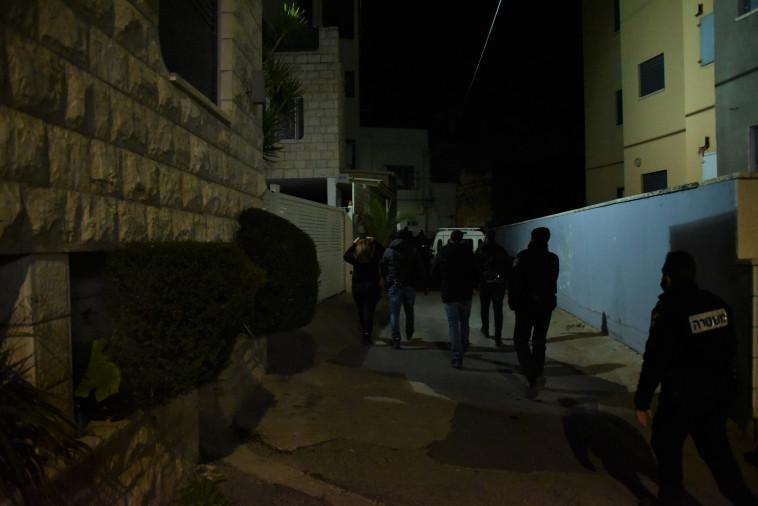 פעילות המשטרה בטורעאן (צילום: דוברות המשטרה)
