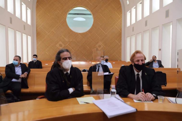 אנשי התנועה לאיכות השלטון בבג''ץ (צילום: מארק ישראל סלם)