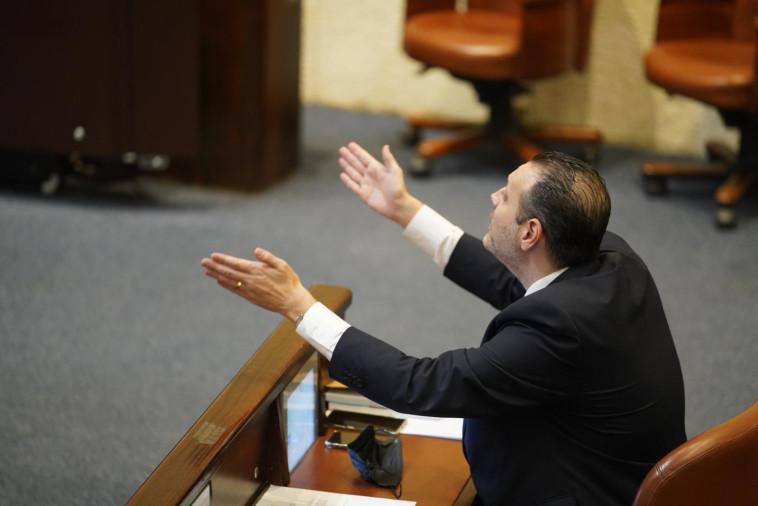מיקי זוהר במליאת הכנסת (צילום: שמוליק גרוסמן, דוברות הכנסת)