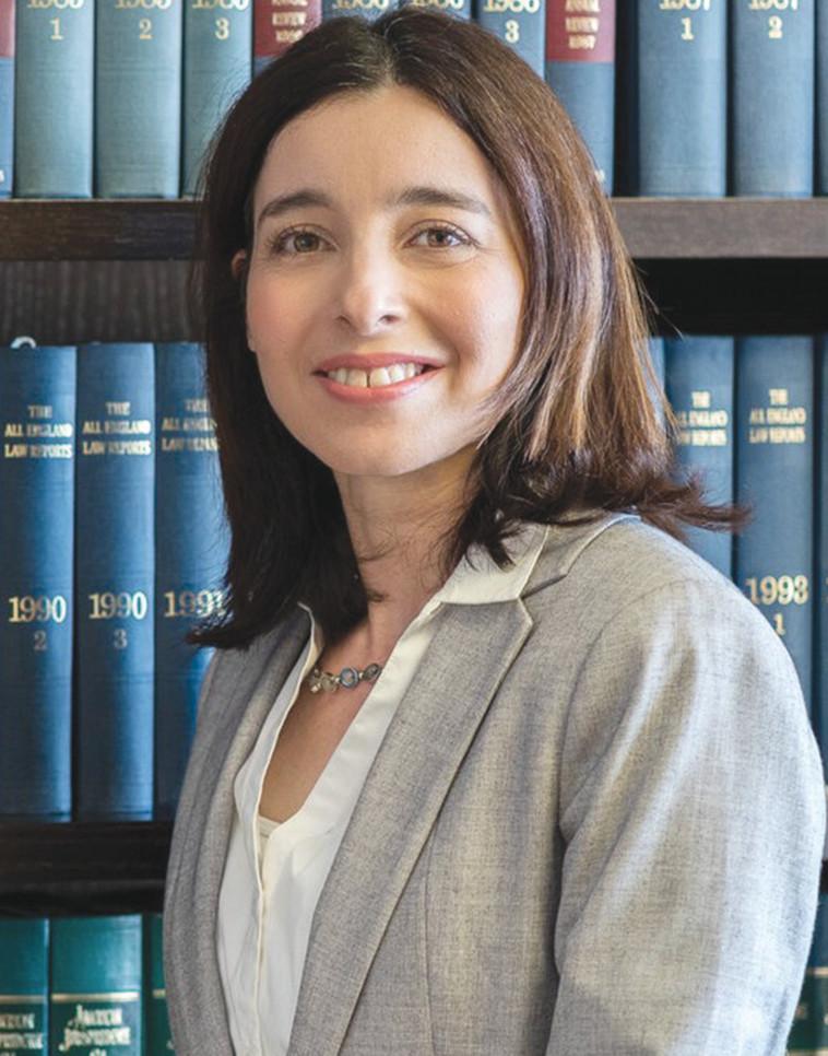 עורכת הדין ורד זליכה (צילום: איה בן עזרי)