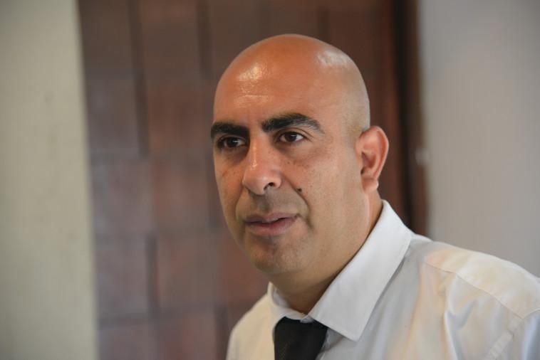 עורך הדין ברק כהן, ראש המפלגה ''דמוקרטית'' (צילום: אבשלום ששוני)