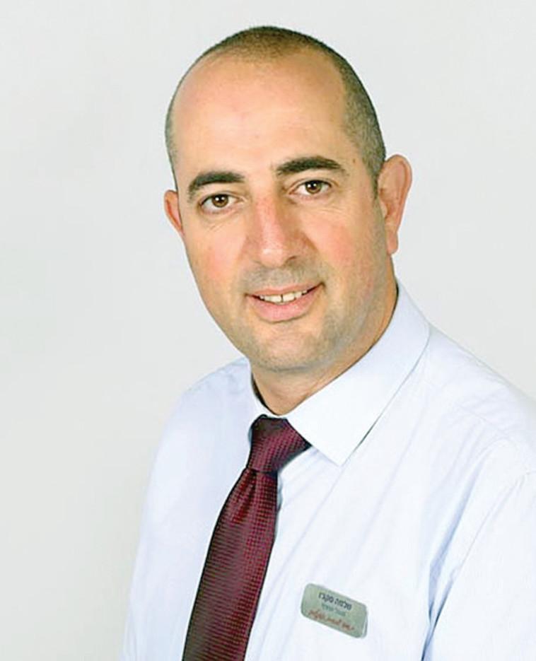 שלמה סקג'ו מנהל סניף נוה ים (צילום: פרטי)