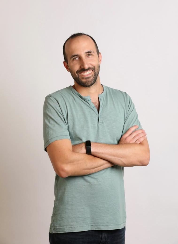 יוני צרויה מנכ''ל ומייסד שותף LUSHA (צילום: גבע טלמור)