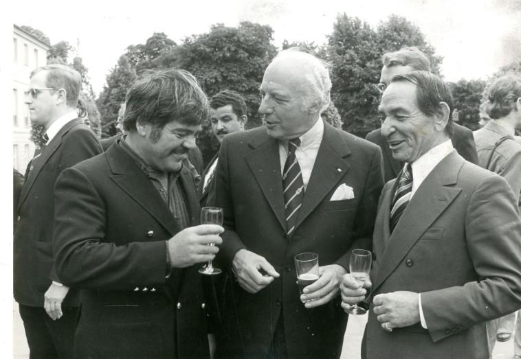 ראובן בר יותם בפסטיבל ברלין שנת 1975  (צילום: mario mach ברלין, גרמניה)