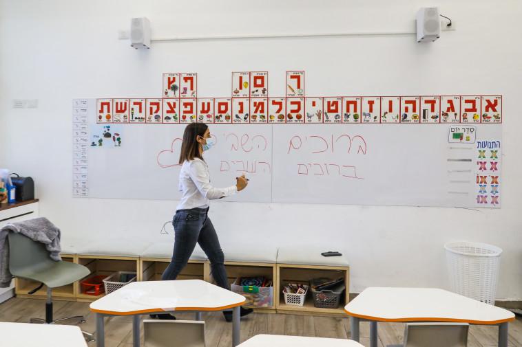 מערכת החינוך מתכוננת לחזרת התלמידים (צילום: מרק ישראל סלם)