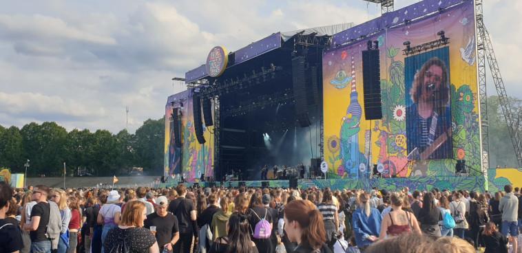 היו זמנים. פסטיבל LollaPalooza בברלין (צילום: צוף ישראלי)