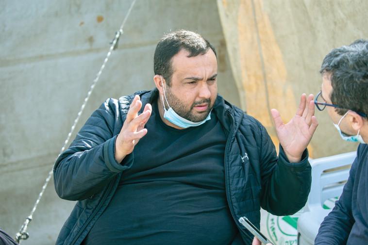 אחיו של אחמד חיג'אזי (צילום: יוסי אלוני)