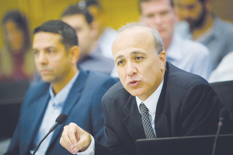 Moshe Barkat, Head of the Capital Market (Photo: Yonatan Zindel, Flash 90)