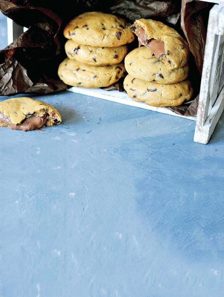 עוגיות שוקולד צ'יפס (צילום: פסקל פרץ-רובין)
