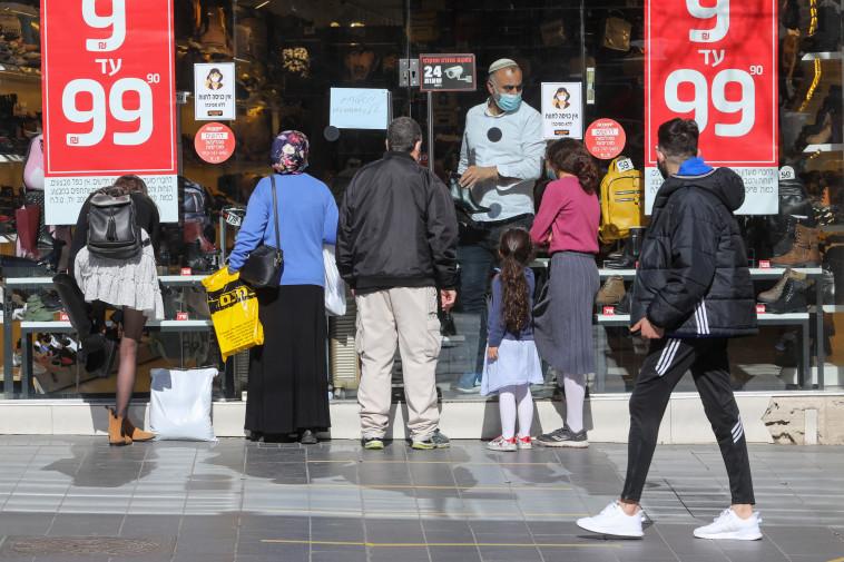 חנויות הרחוב נפתחות אחרי הסגר בירושלים (צילום: מרק ישראל סלם)