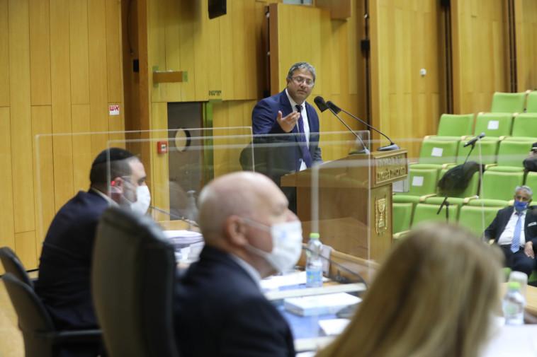 איתמר בן גביר בוועדת הבחירות (צילום: יוסי זמיר, לע''מ)
