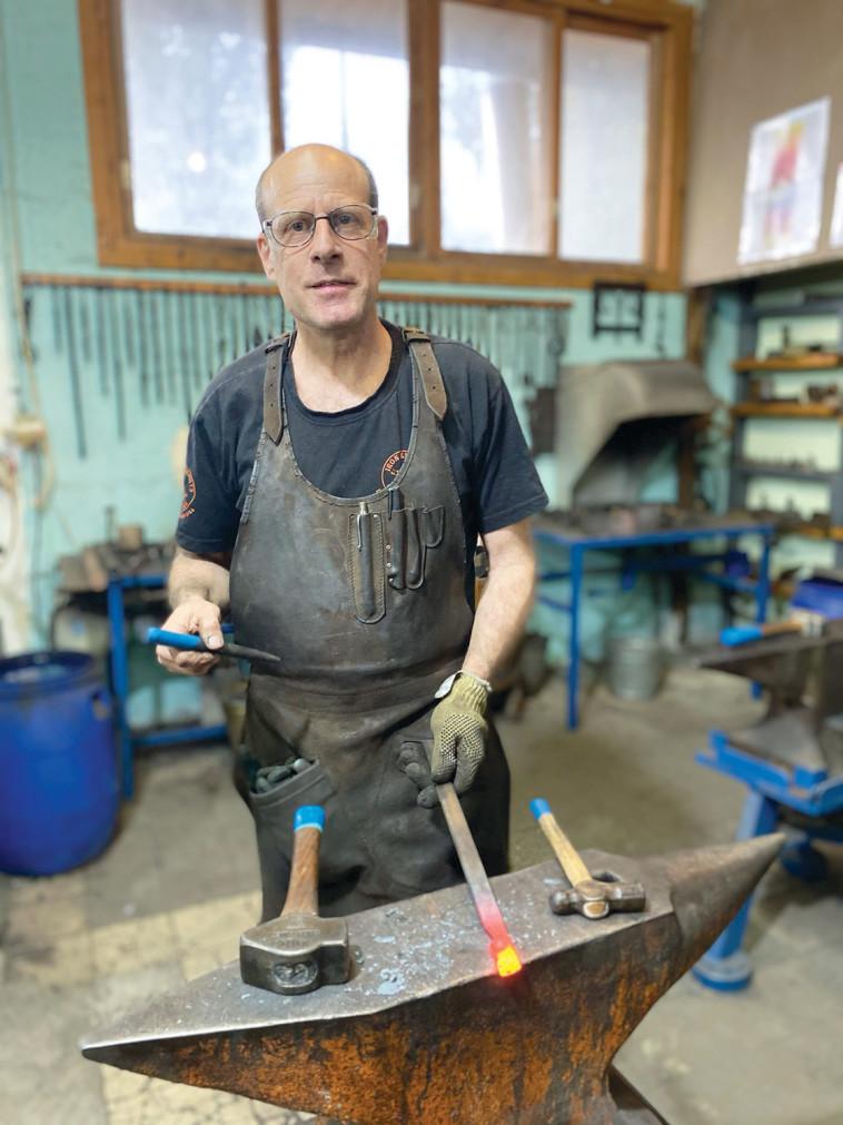 Blacksmiths workshop (Photo: Meital Sharabi)
