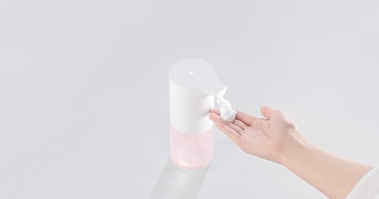 דיספנסר לניקוי ידיים של שיאומי - Mi Automatic Foaming Soap Dispenser (צילום: יח''צ)