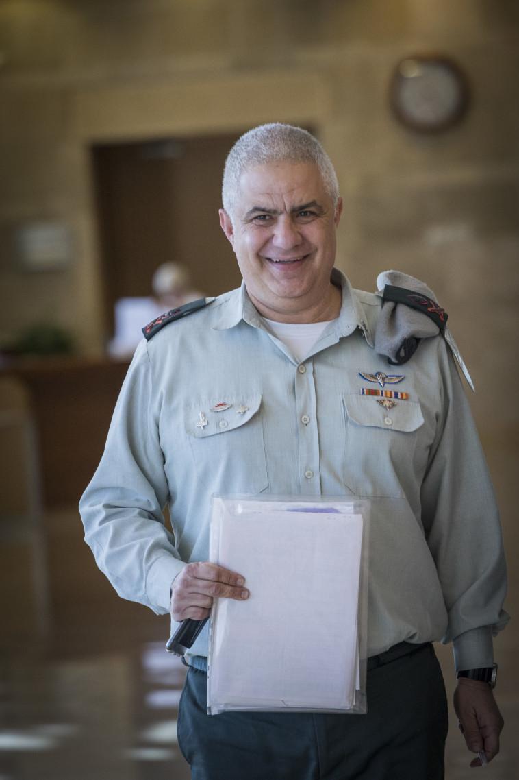 אלוף מוטי אלמוג, ראש אכ''א (צילום: יונתן זינדל, פלאש 90)