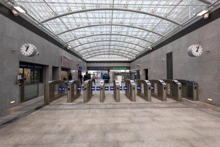 תחנת הרכבת תל אביב - השלום (צילום: רכבת ישראל)