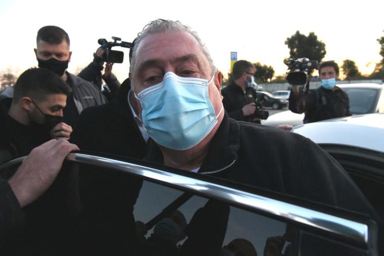 העבריין זאב רוזנשטיין השתחרר מהכלא (צילום: ראובן קסטרו)