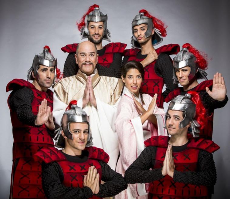 Purim at the Orna Porat Theater (Photo: Kfir Bolotin)