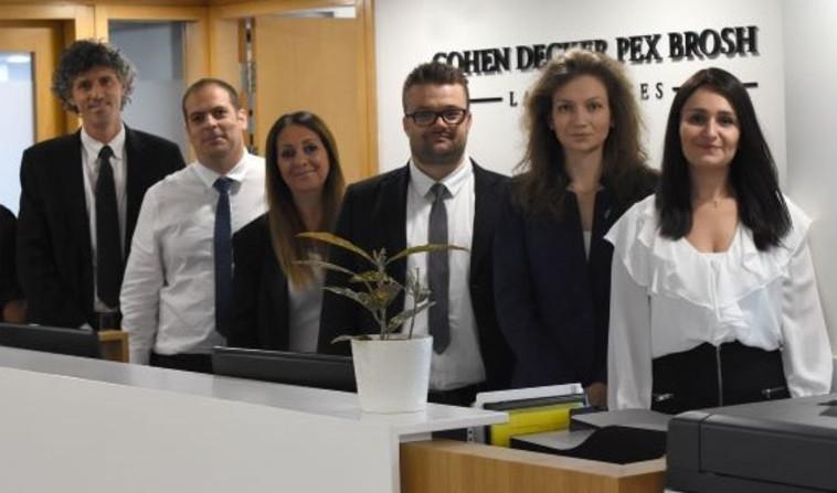 צוות משרד עו''ד כהן דקר פקס וברוש (צילום: שירי דקר)