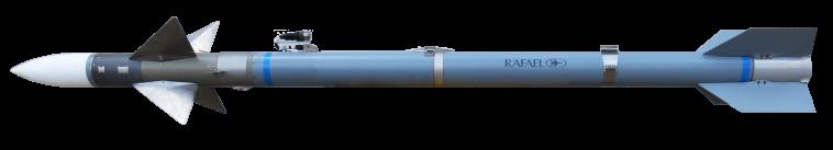 הטיל החדש מתוצרת רפאל (צילום: דוברות רפאל)
