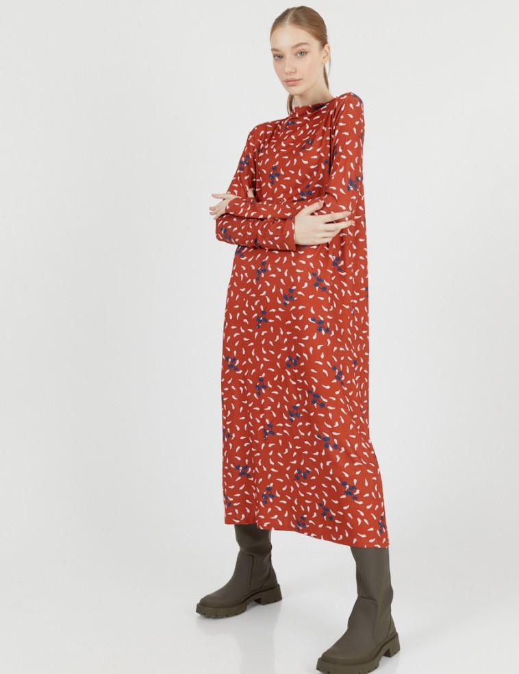 שמלת מקסי של המותג טוטון עכשיו ב-300 שקל  (צילום: לירון ויסמן)