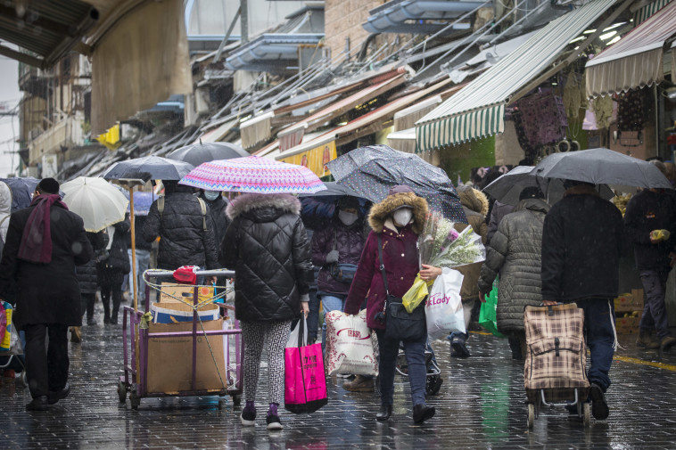 הסופה האחרונה (צילום: אוליבייה פיטוסי, פלאש 90)