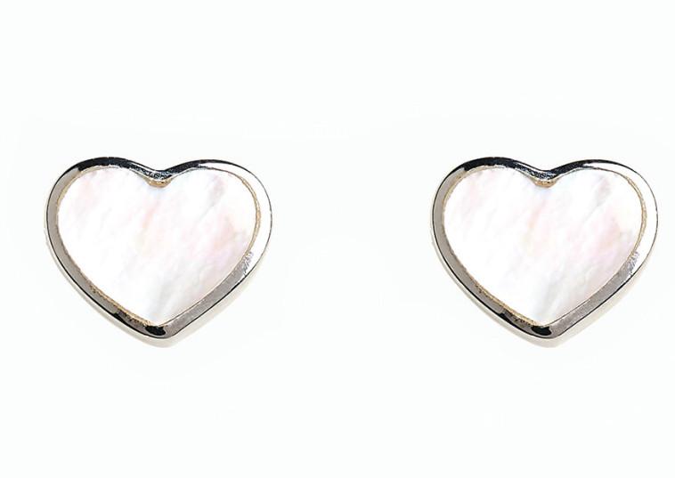 אתר NEXT עגילי לב  44 שקלים (צילום: יח''צ חו''ל)