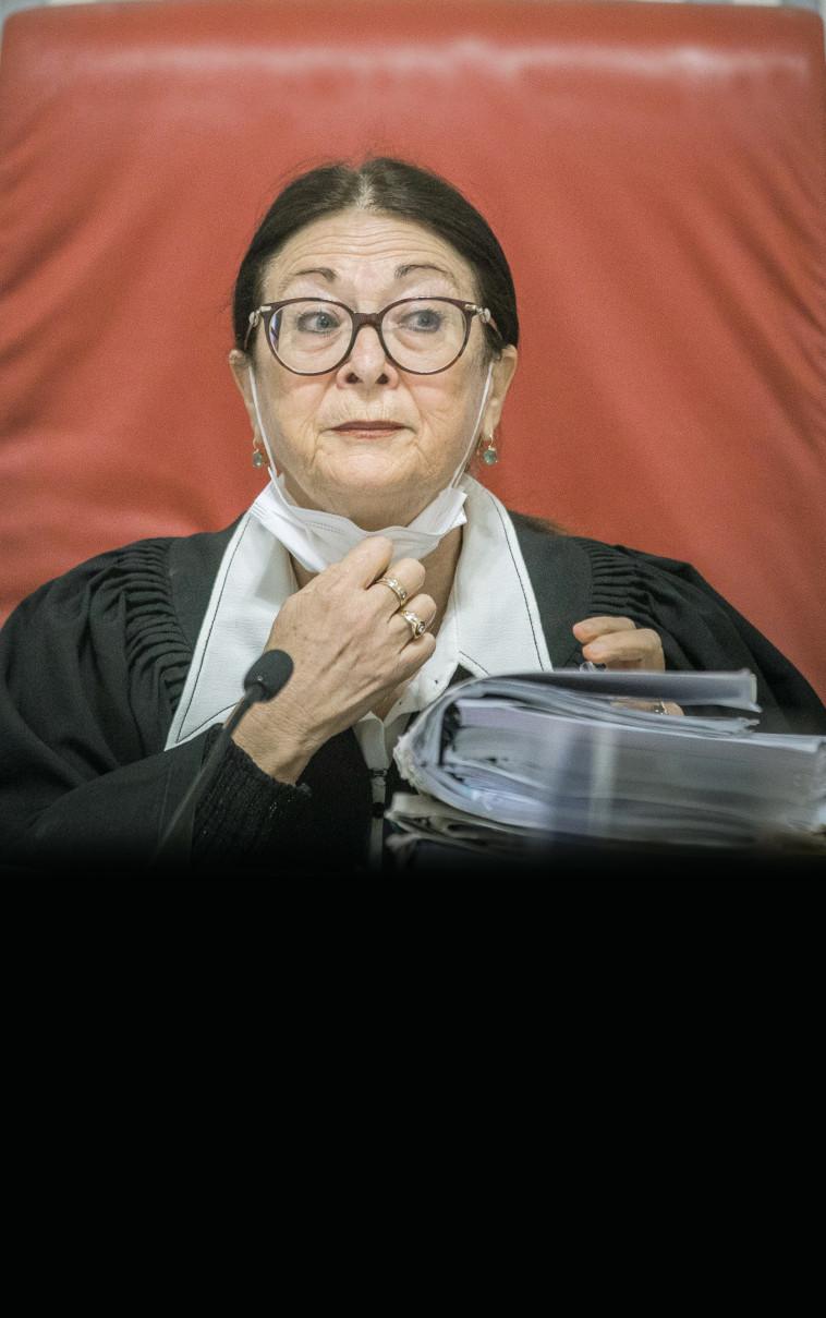 שופטת בית המשפט העליון אסתר חיות (צילום: יונתן זינדל פלאש 90)