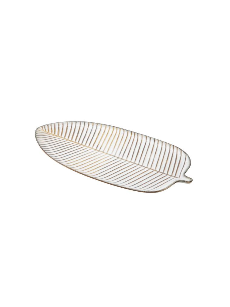 כלי הגשה בצורת עלה, פוקס הום, 79.90 ש''ח (צילום: טל טרי)