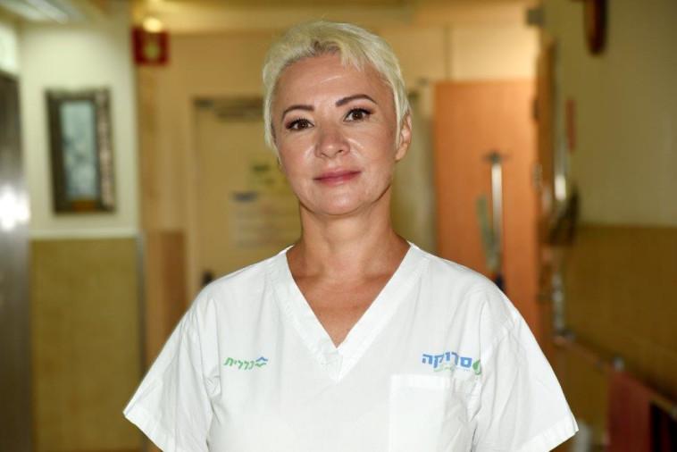אילנה פוחיס, אחות אחראית במחלקת טיפול נמרץ קורונה בסורוקה (צילום: באדיבות המרכז הרפואי סורוקה)