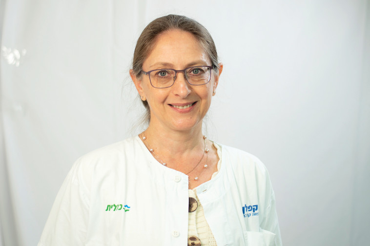 ד''ר ילנה קישנבסקי, מנהלת טיפול נמרץ קורונה בקפלן (צילום: גלעד שעבני שופן)